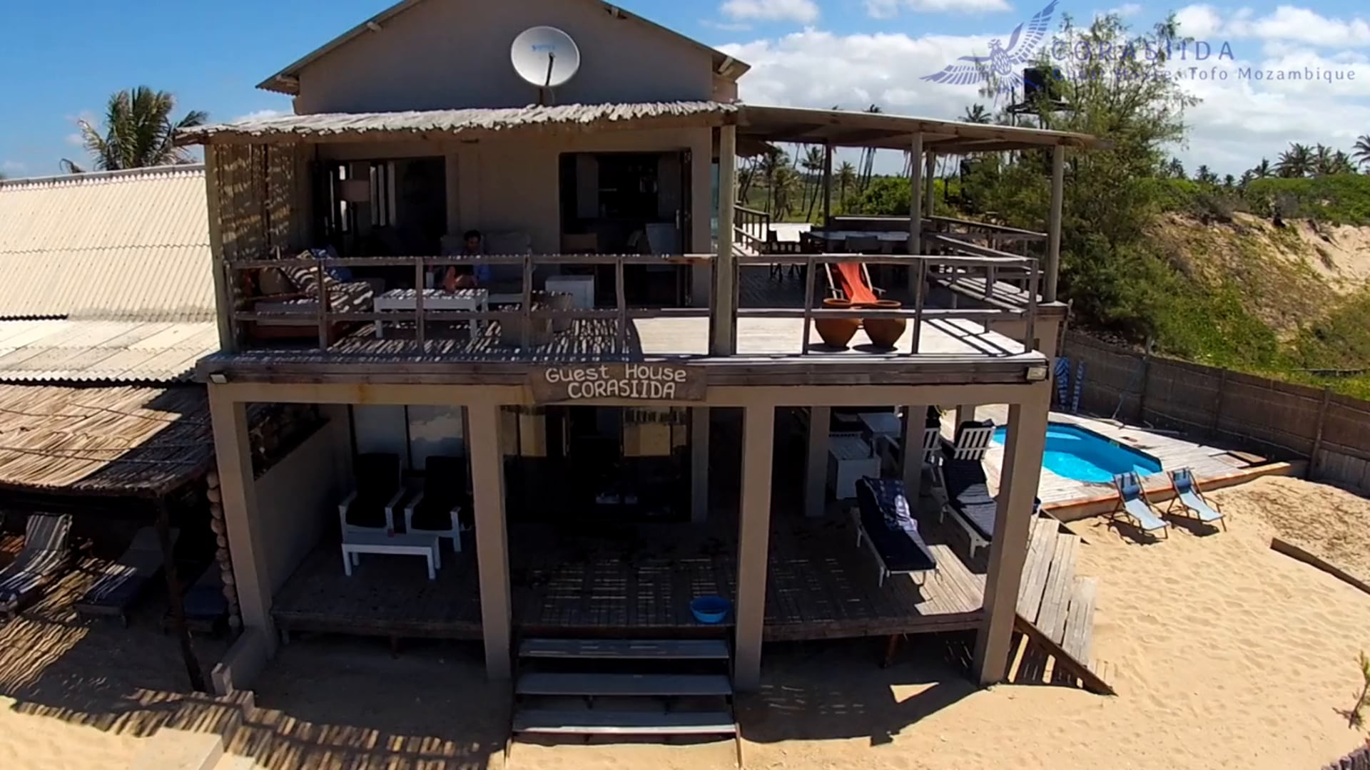 Mozambique : Tofo : Corasiida Guesthouse