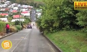 Could You Live on the World's Steepest Residential Street?