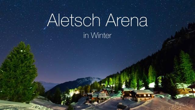 ALETSCH ARENA IM WINTER