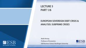 Macroeconomy Lecture 7: Summary of the Macroeconomics Class