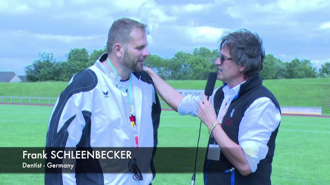 MEDIGAMES 2015 - Frank Schleenbecker - Dentist