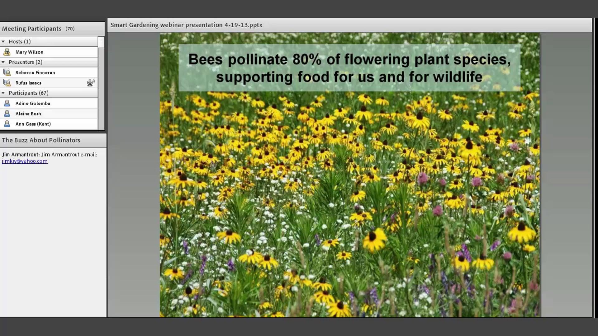 Smart Gardening for Pollinators