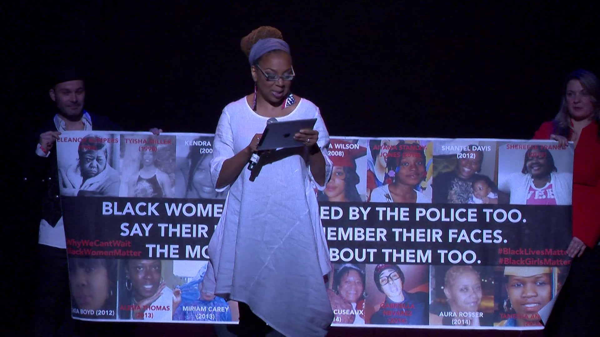 Kimberlé Crenshaw at One Billion Rising's Artistic Revolution- #SayHerName