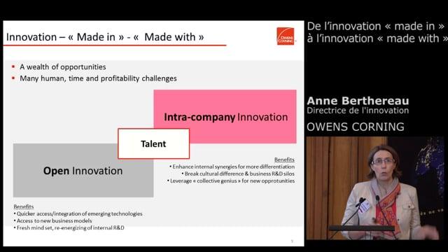 Anne Berthereau, Directrice de l'Innovation - Owens Corning
