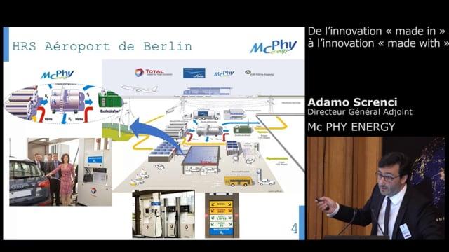 Adamo Screnci, Directeur Général Adjoint - Mcphy Energy
