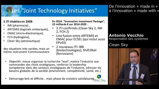 Antonio Vecchio, Responsable des Systèmes - Clean Sky