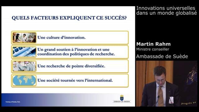 Martin Rahm - Ministre Cons.r Ambassade de Suède