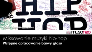 Opracowanie barwy głosu (hip-hop)