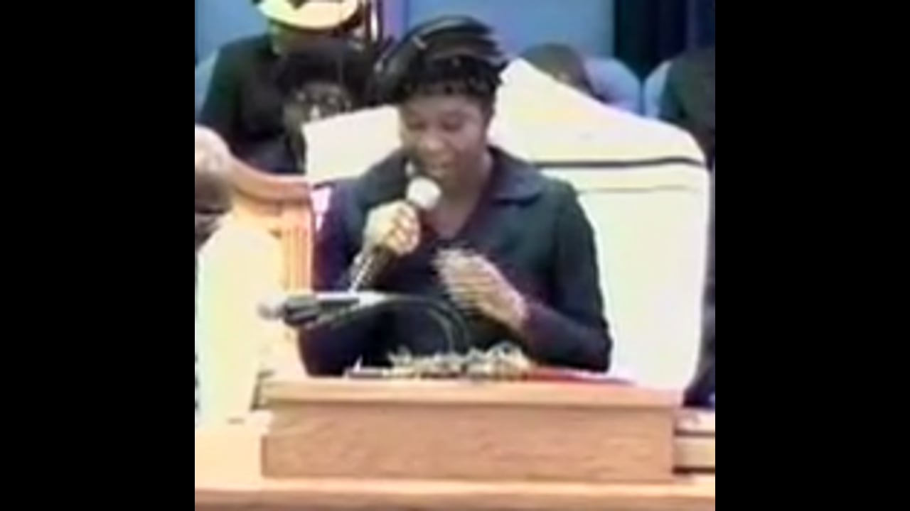 04-29-11, Evangelist Sheree Williams, Becoming The King That Your Are