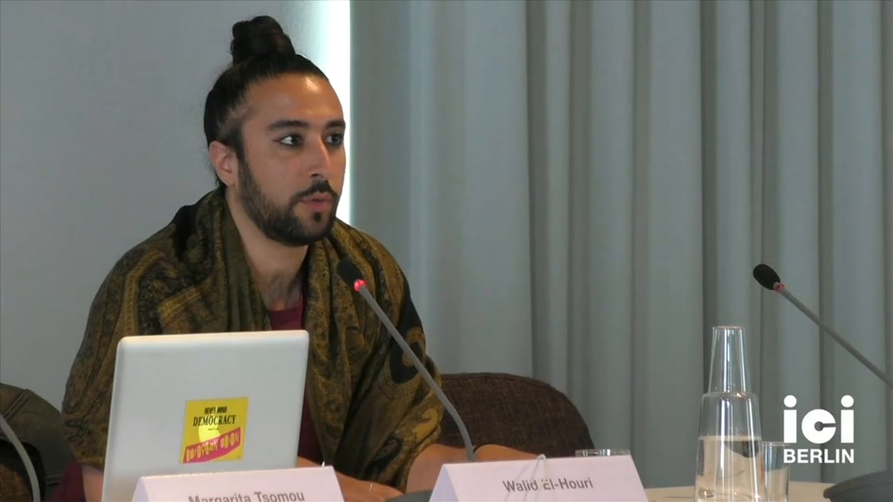 Talk by Walid El-Houri [Part 2, 2]