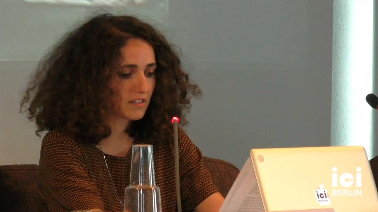 Talk by Rosa Barotsi [Part 4, 2]