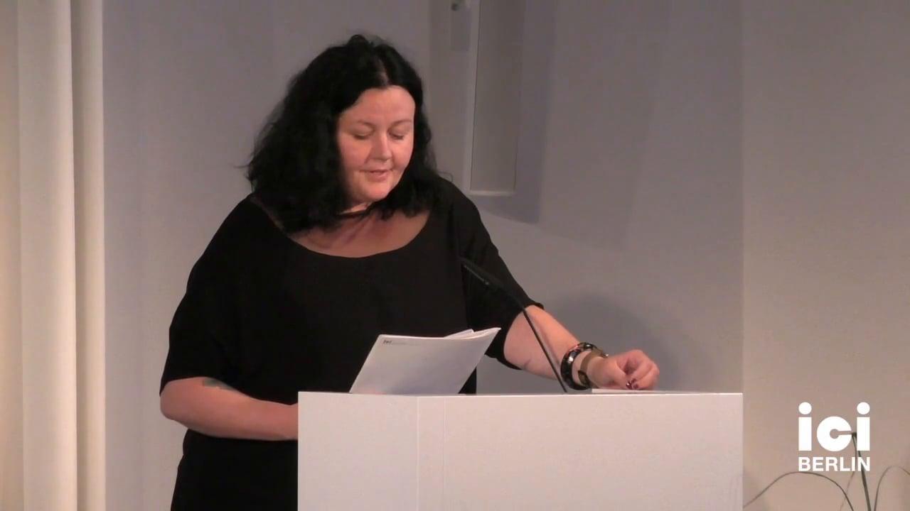 Introduction of Jack Halberstam by Ewa Majewska [2]