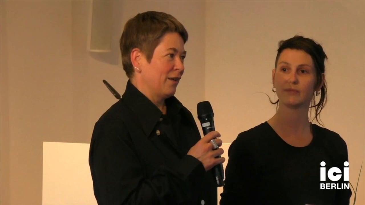 Introduction of Serena Dankwa and Jafari Allen by Antke Engel and Jule Jakob Govrin [1]