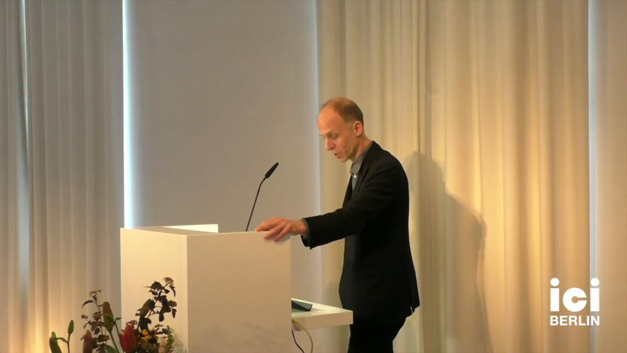 Introduction of Peter Hitchcock by Christoph Holzhey [1]
