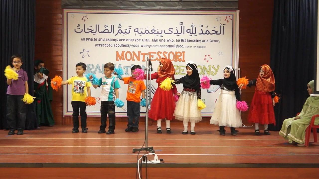 PreSchool and Montessori Graduation Ceremony 2015 (F-8 Campus)
