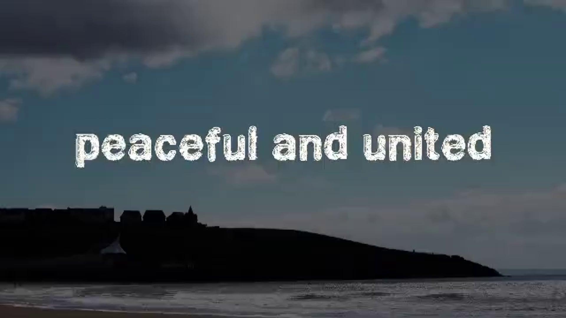Peaceful and United - 2015.