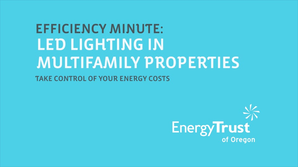 Thumbnail of video for Efficiency Minute: LED Lighting