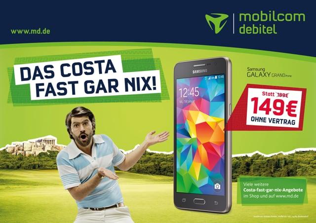 MOBILCOM DEBITEL - Costa fast gar nix