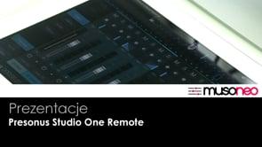 iPad w roli sterownika Studio One 3