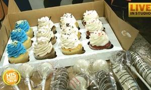 Local Baker on Cake Wars Live in Studio