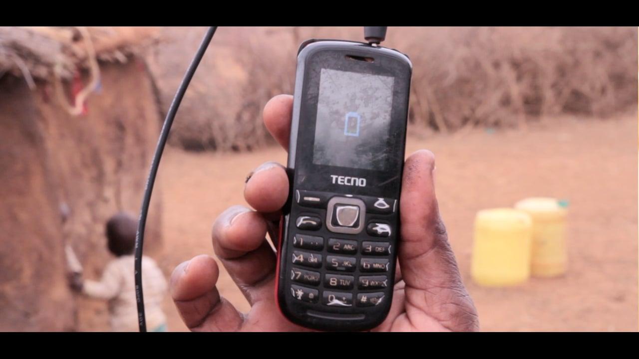 - Mobile Phone Charging - GIVEWATTS, Amboselli