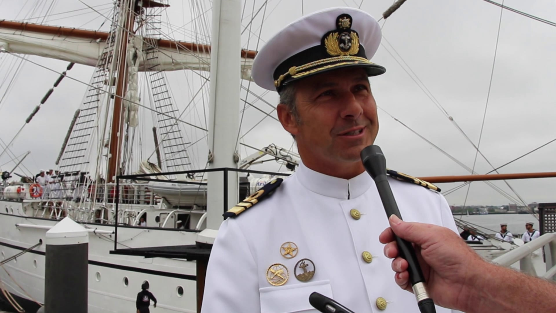 Tall Ship NRP Sagres - Boston 2016