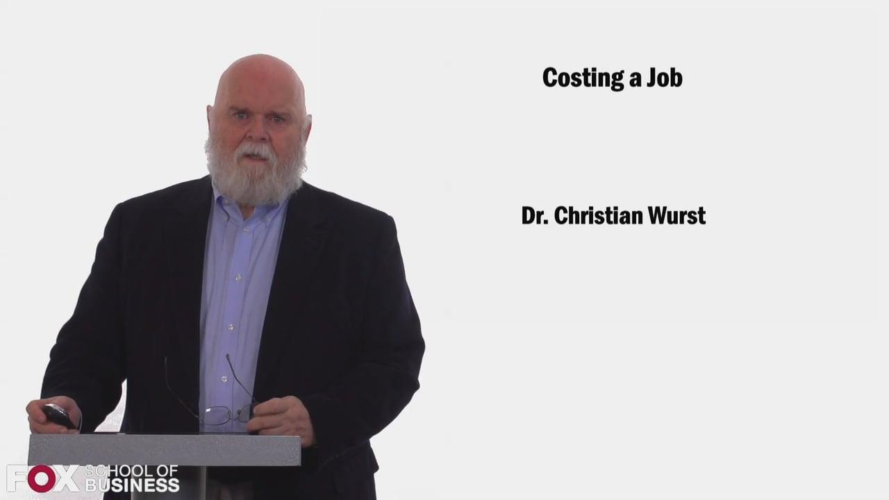 58435Costing a Job