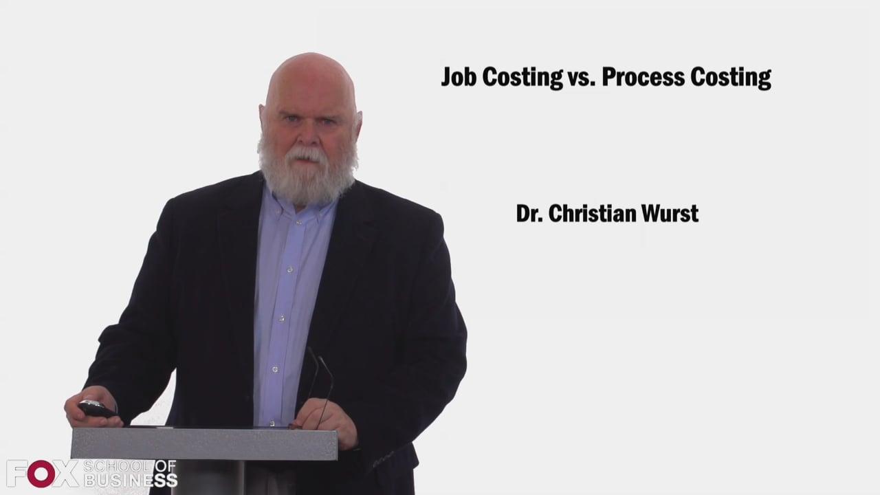 58459Job Costing vs Process Costing
