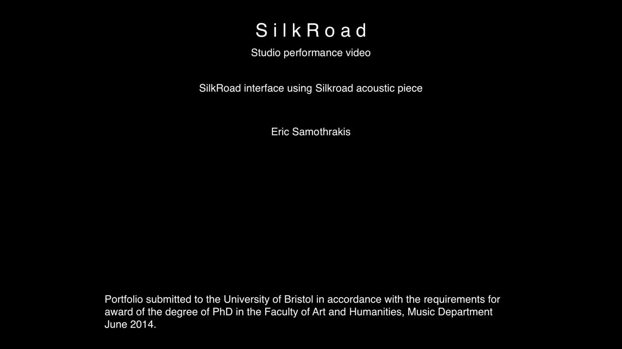 §6 SilkRoad - studio performance with original sound library