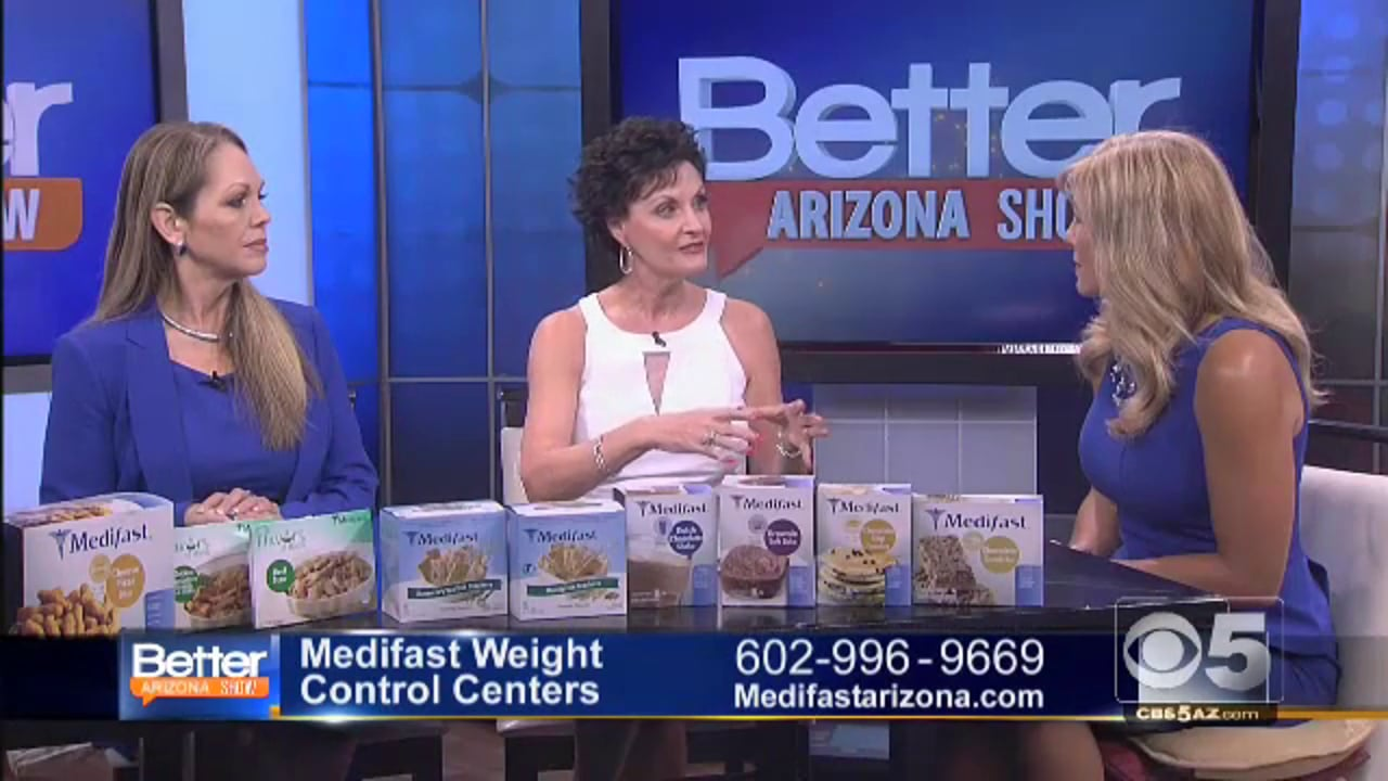 Medifast on Better Arizona Show - 5 Phoenix Valley Locations (602) 996-9669