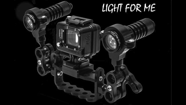 light-for-me Video Set 1800 lumens