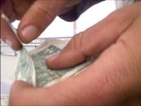 """Paulo Nazareth, <em>100 Dolars</em>, 2015, video,59'47"""""""