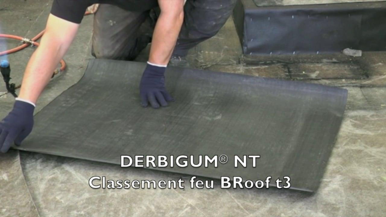 Test au Feu Derbigum NT