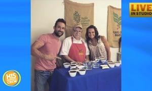 John Waller Launching Crazy Faith Coffee