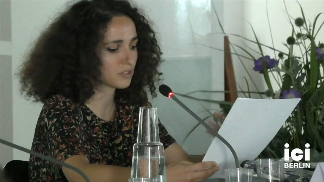 Talk by Rosa Barotsi [Part 4, 6]