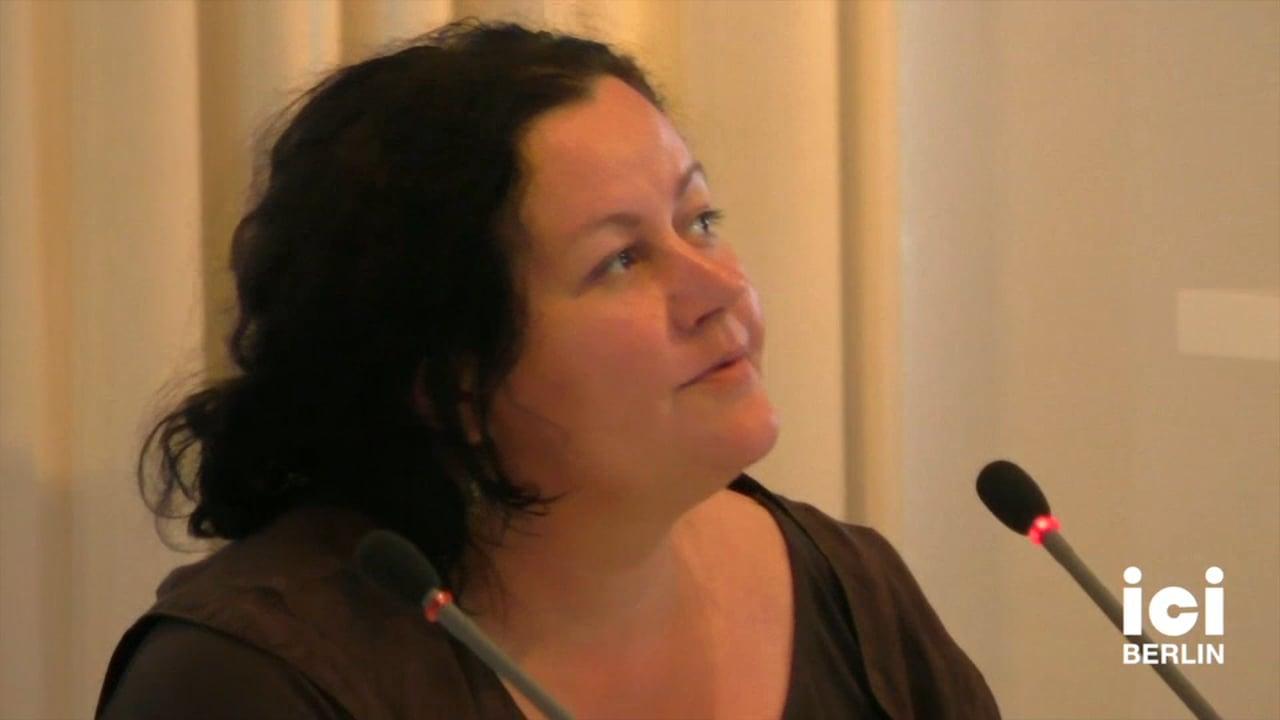 Talk by Ewa Majewska [Part 1, 6]
