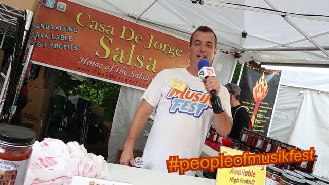 #peopleofmusikfest - #stupidhot #salsaguy