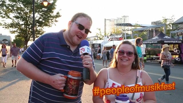 #peopleofmusikfest - #justmarried