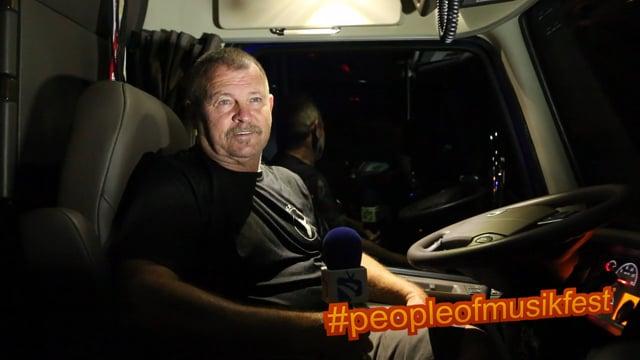 #peopleofmusikfest - #idrivefordarius #truckdriver #cantdriveacarworthacrap