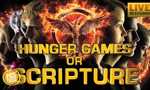 Matt Hamitt Plays Hunger Games or Scripture