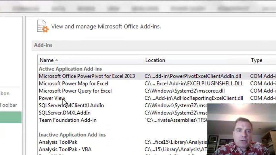 Excel Video 473 Configuring Excel 2013 BI Tools