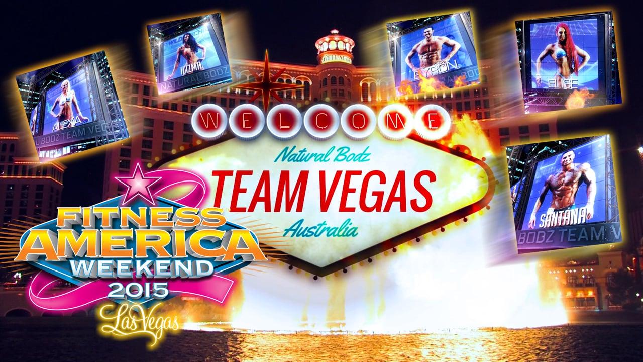 2015 Natural Bodz Team Vegas