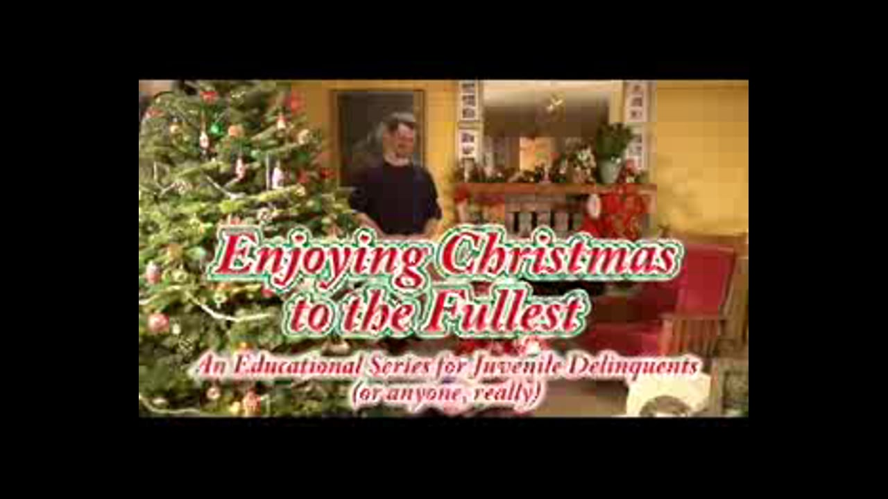 enjoying christmas to the fullest
