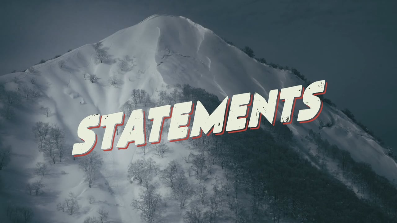 Statements Teaser
