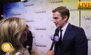 Hayden Christensen Talks About 90 Minutes in Heaven