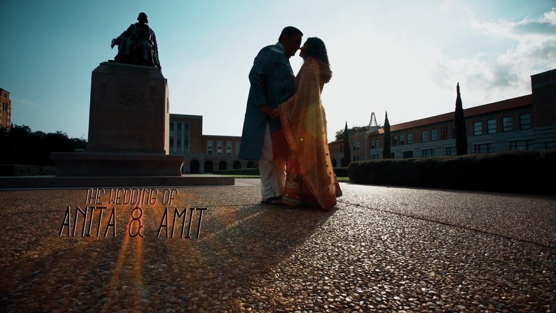 Anita & Amit Wedding Highlights.