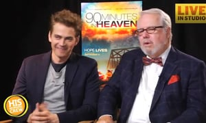 90 Minutes in Heaven with Hayden Christensen and Don Piper