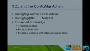SQL Config Man