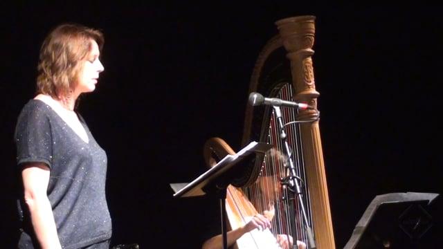 Musique contemporaine pour voix et harpe