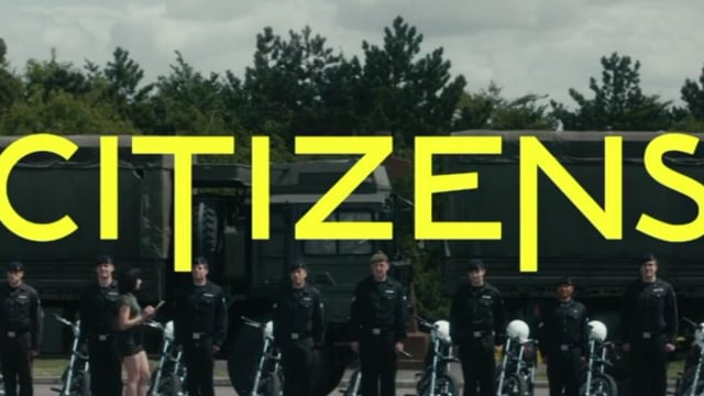 Citizens!  My kind of girl